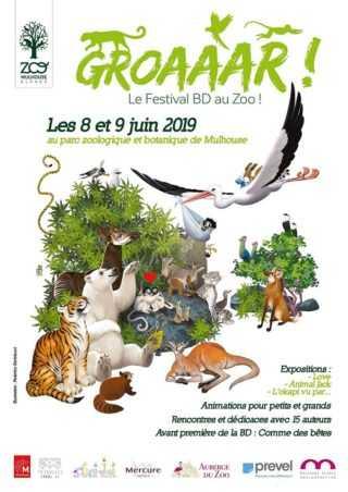 L'Okapi vedette de la deuxième édition de Groaaar! à Mulhouse les 8 et 9 juin 2019