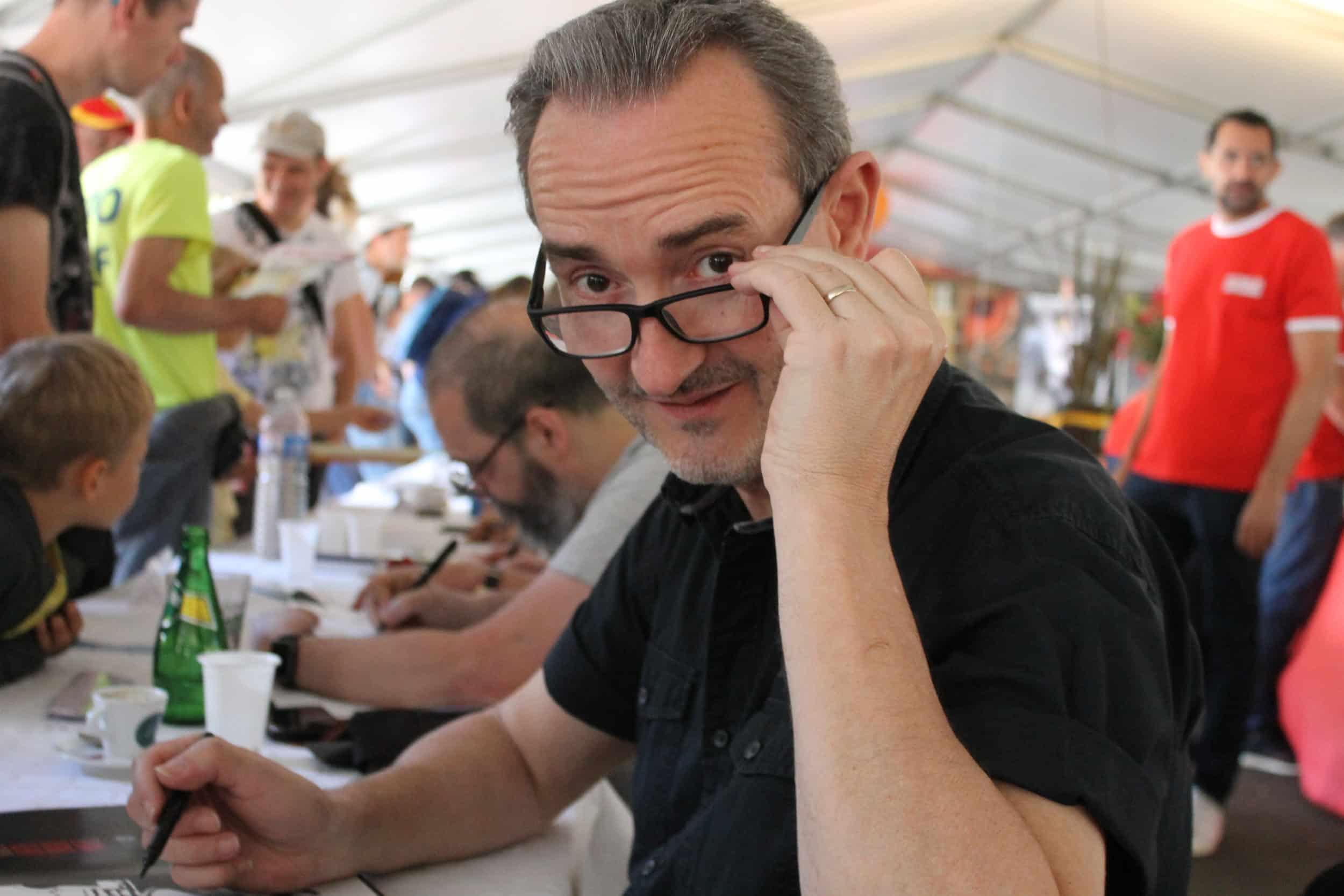 Interview : Hugues Labiano publie Le Lion de Judah et « croit à la force des mots »