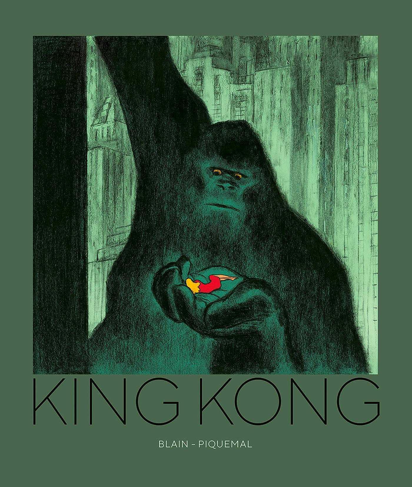 King Kong, Christophe Blain ressuscite le grand singe