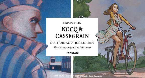 Nocq et Cassegrain chez Maghen à Paris du 11 juin au 20 juillet 2019
