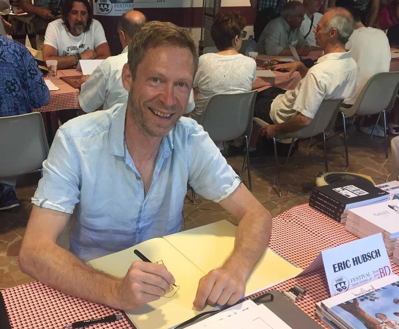 Eric Hubsch s'expose à Fabrègues dans le cadre du Festival BD 2019