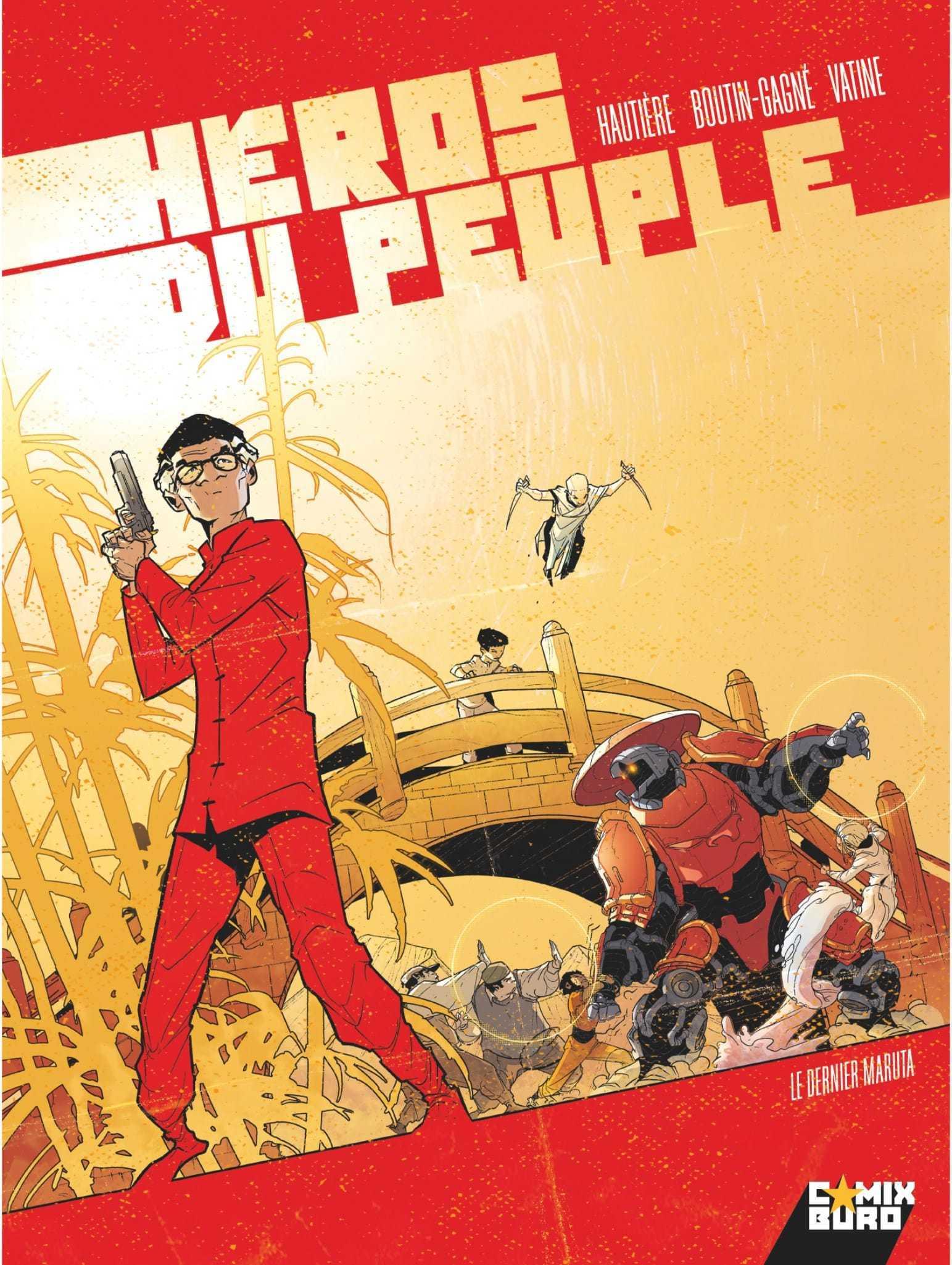 Héros du peuple T2, des enfants et des pouvoirs