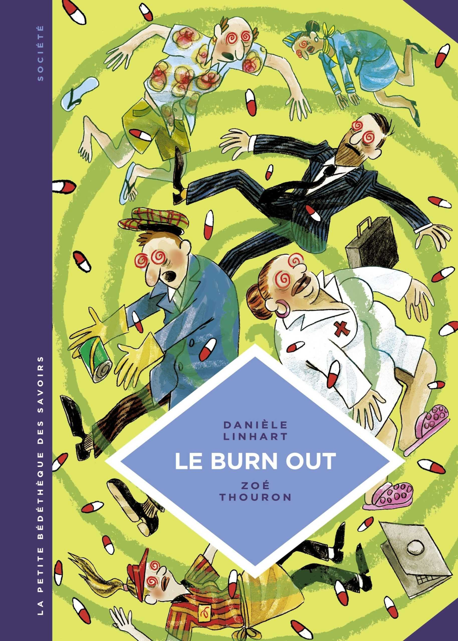 Burn out, un fléau décortiqué par la Petite Bédéthèque des Savoirs avec l'Homo Sapiens