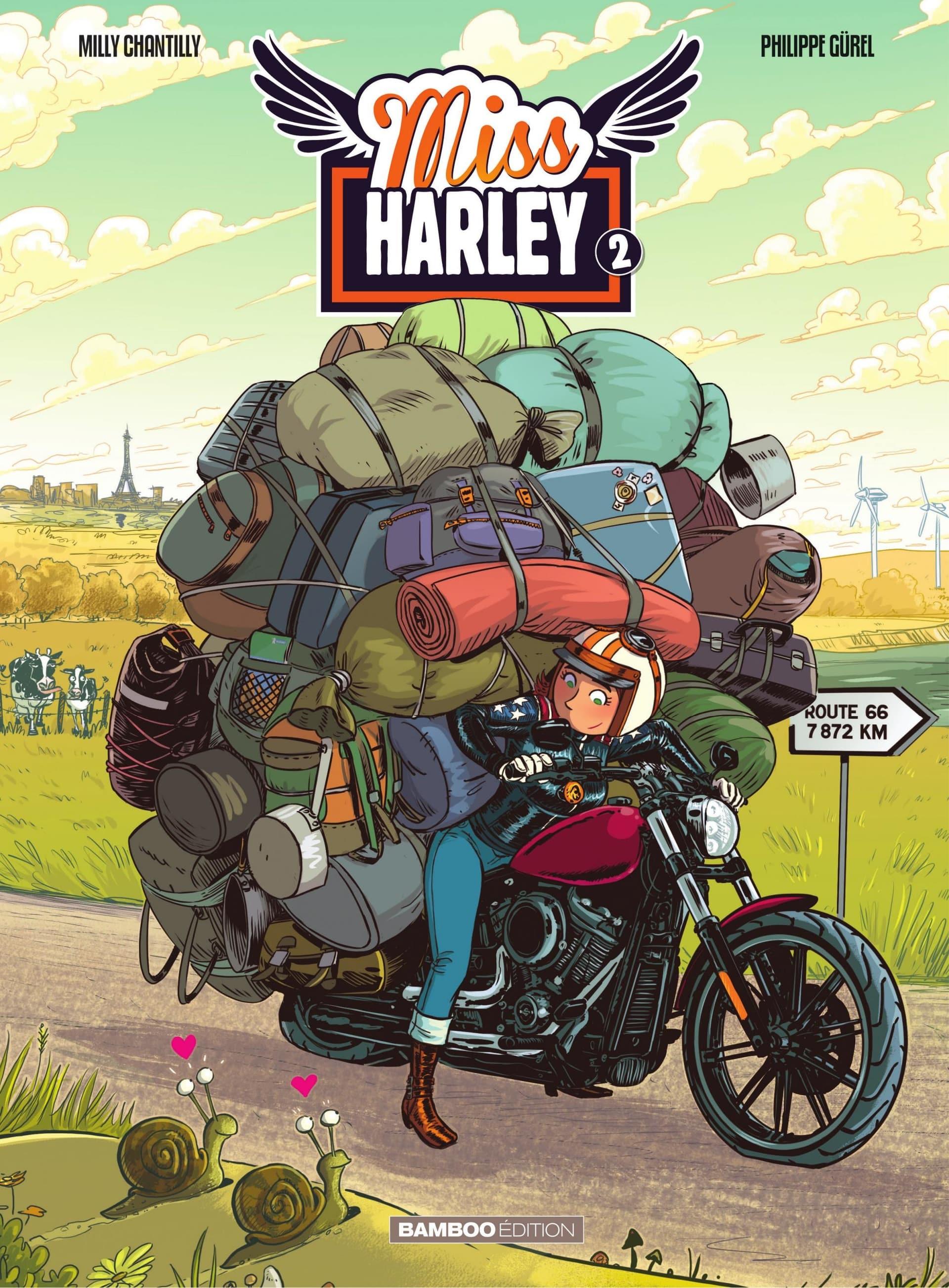 Miss Harley T2, elle persiste en beauté