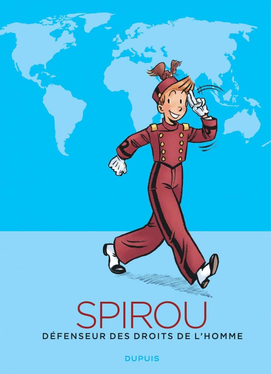 Spirou, défenseur des Droits de l'Homme, un album pour comprendre et réfléchir