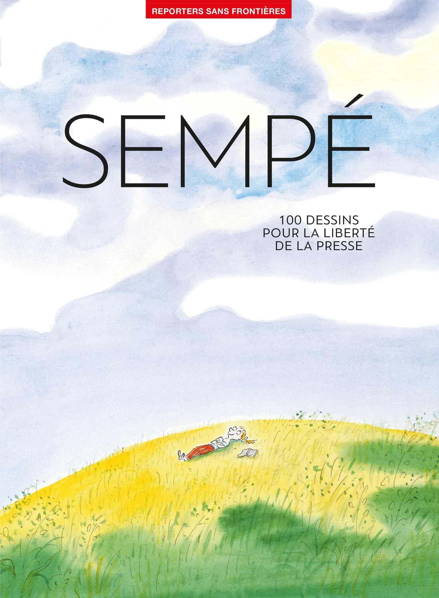 100 dessins de Sempé avec Reporters sans Frontières pour la liberté de la Presse