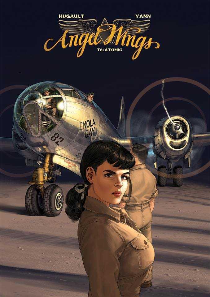 Angel Wings T6, avant-première avec Romain Hugault pour une sortie en fin d'année