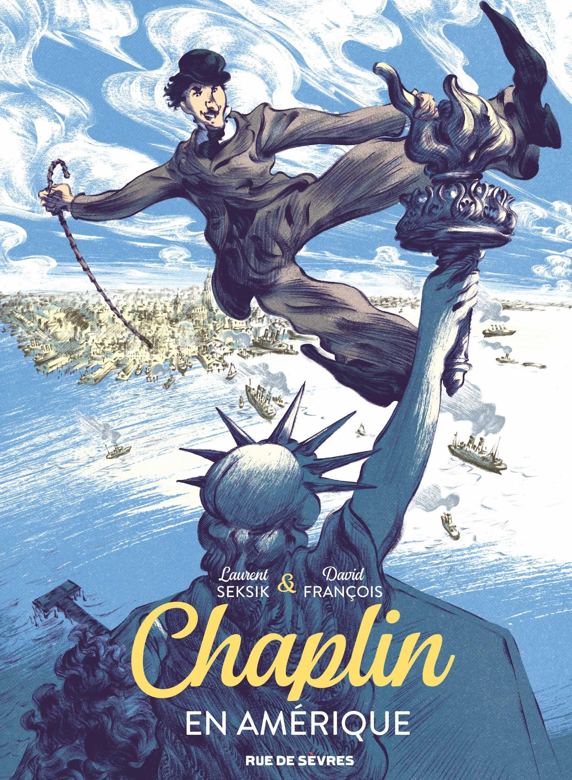 Chaplin en Amérique, Charlot le conquérant