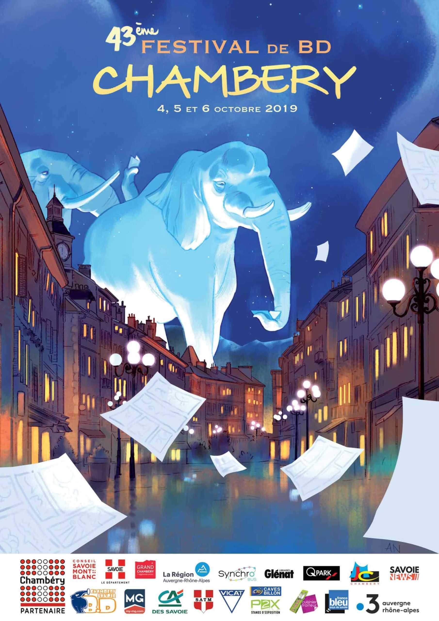 43e Festival de Chambéry, Aurélie Neyret invitée d'honneur signe l'affiche 2019