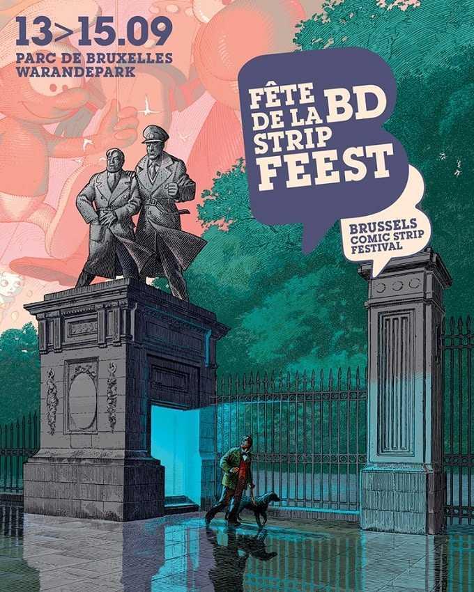 Des expositions sur fond d'Histoire pour la Fête de la BD 2019 à Bruxelles