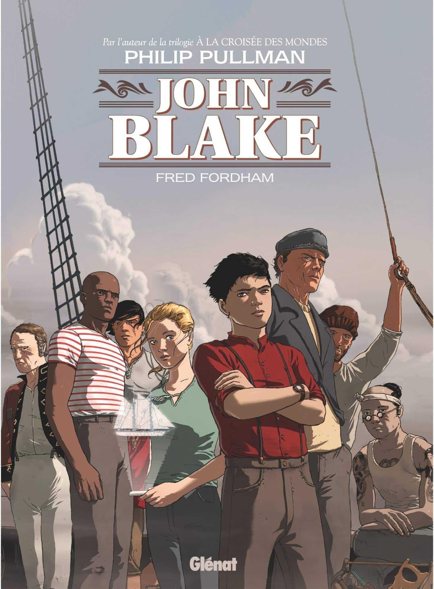 Philip Pullman signe John Blake, aventure maritime et fantastique qui sort fin août 2019