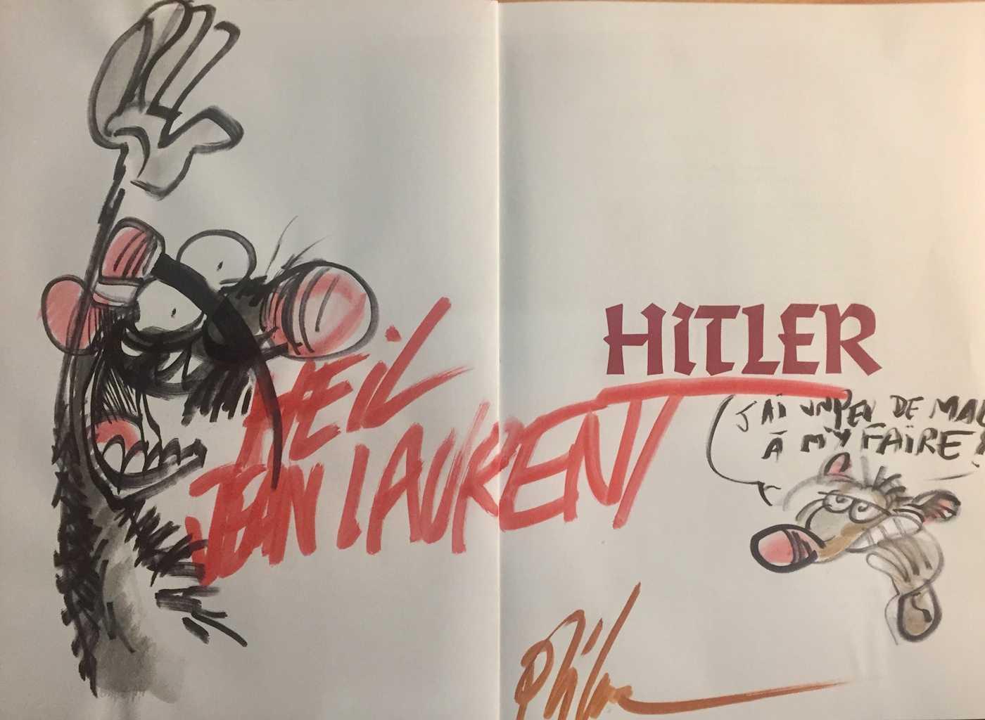 Interview Ptiluc Pour Hitler Hier Déjà Mais Demain