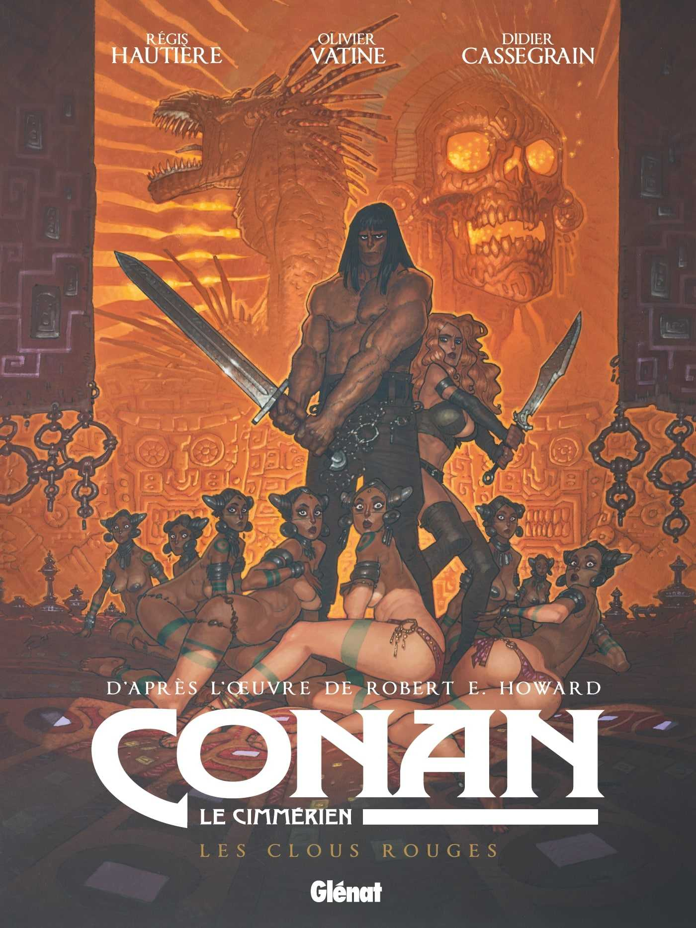 Conan, Les Clous rouges pour une cité sanglante