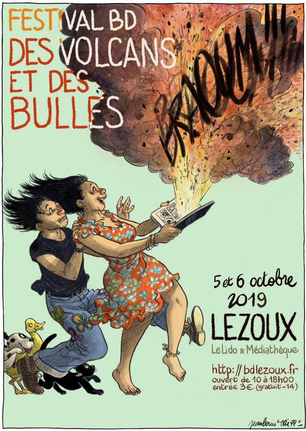 Des Volcans et des bulles, c'est à Lezoux les 5 et 6 octobre 2019