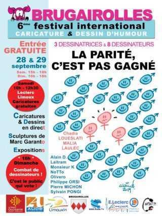 Festival de caricature et dessin d'humour de Brugairolles 2019