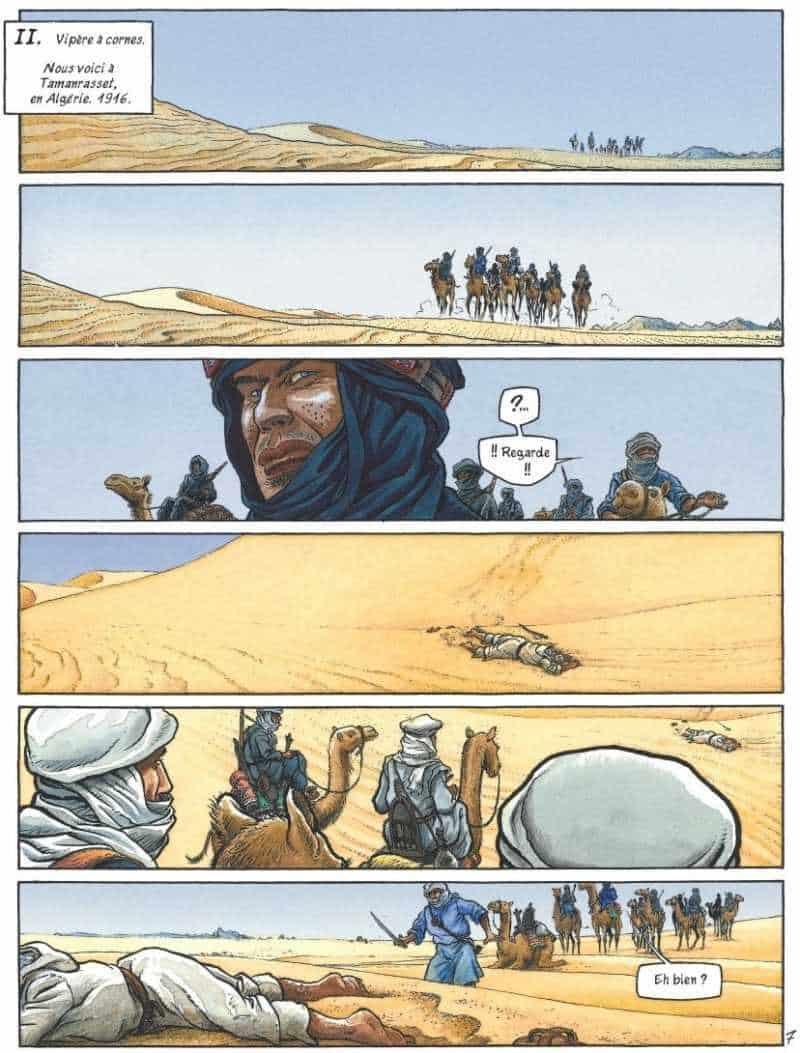 Une tentation dans le désert