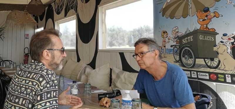 Rubén Pellejero et Jean-Laurent Truc
