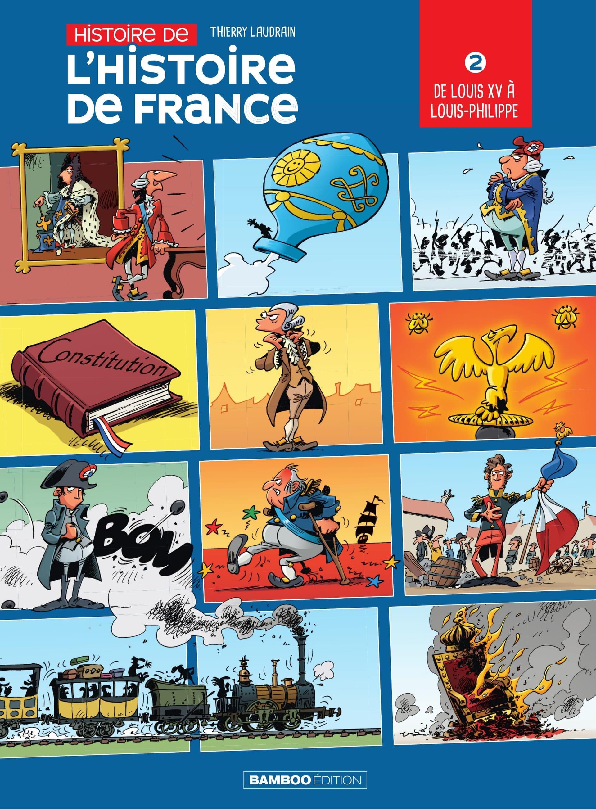 Histoire de l'Histoire de France, le tome 2 vedette des journées du Patrimoine à Versailles le 22 septembre