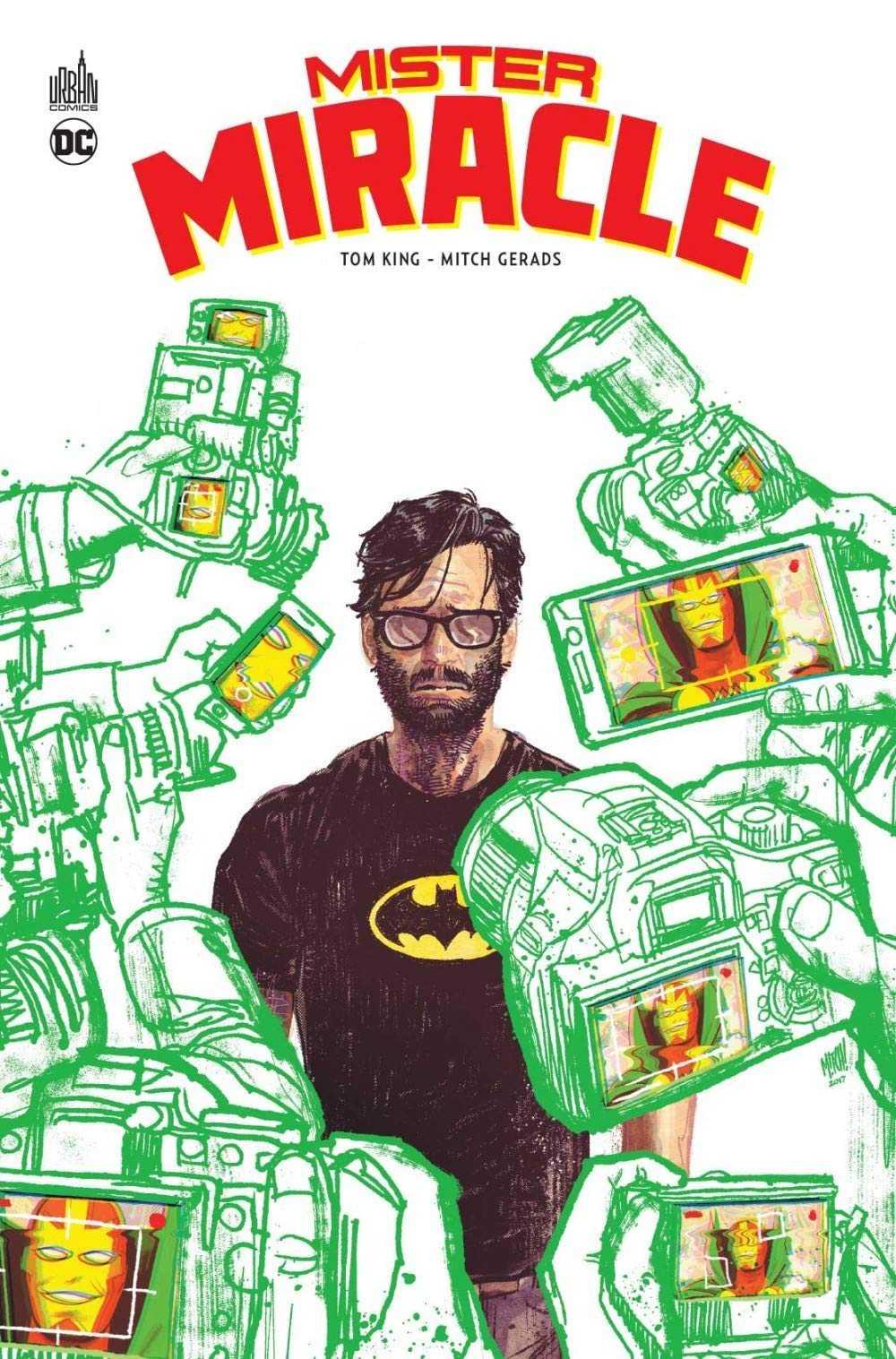 Mister Miracle remporte le premier Prix Comics attribué par l'ACBD