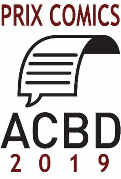 Les cinq nommés du Prix Comics ACBD qui sera remis le 25 octobre 2019