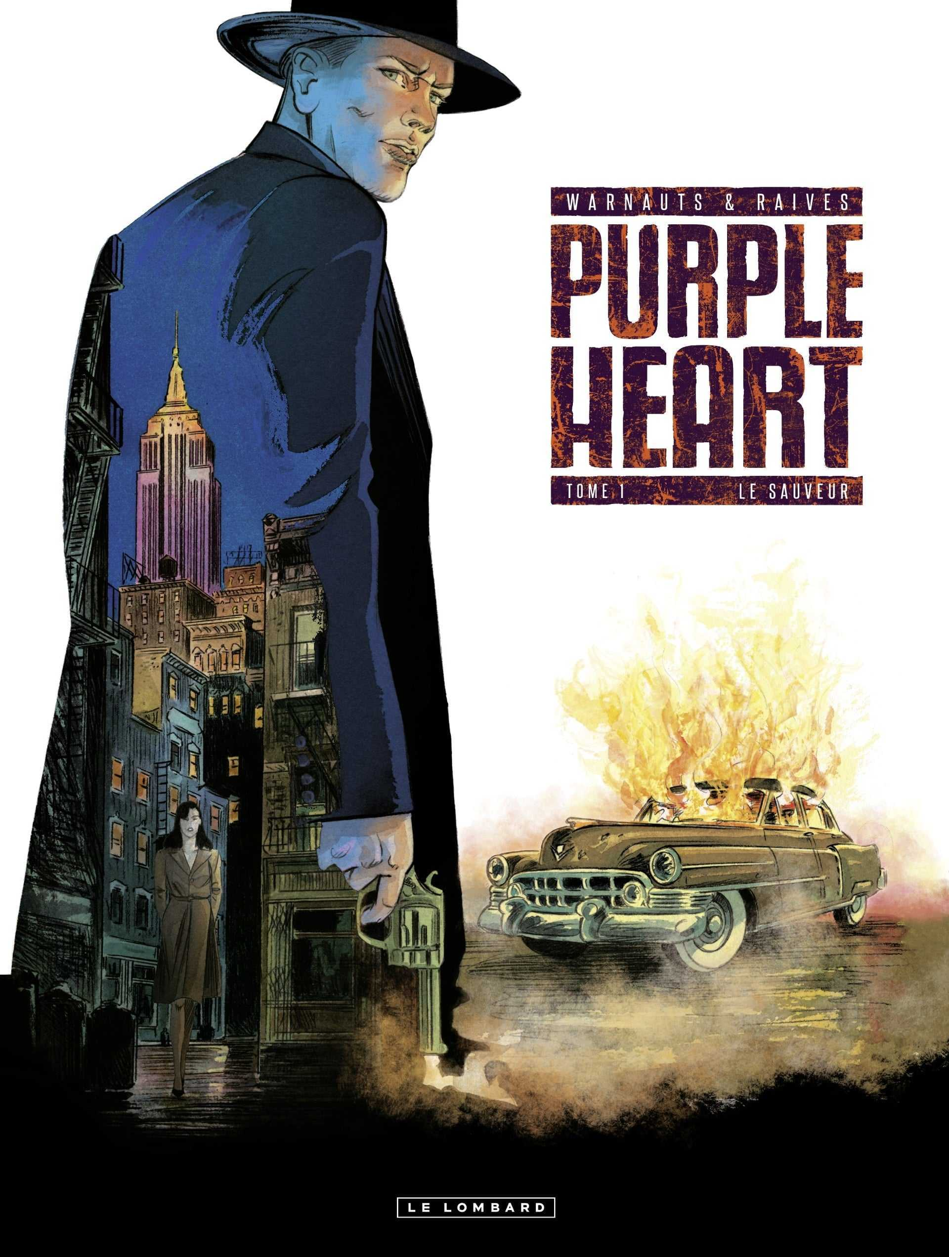 """Purple Heart, Warnauts et Raives pour une série très """"privé"""""""