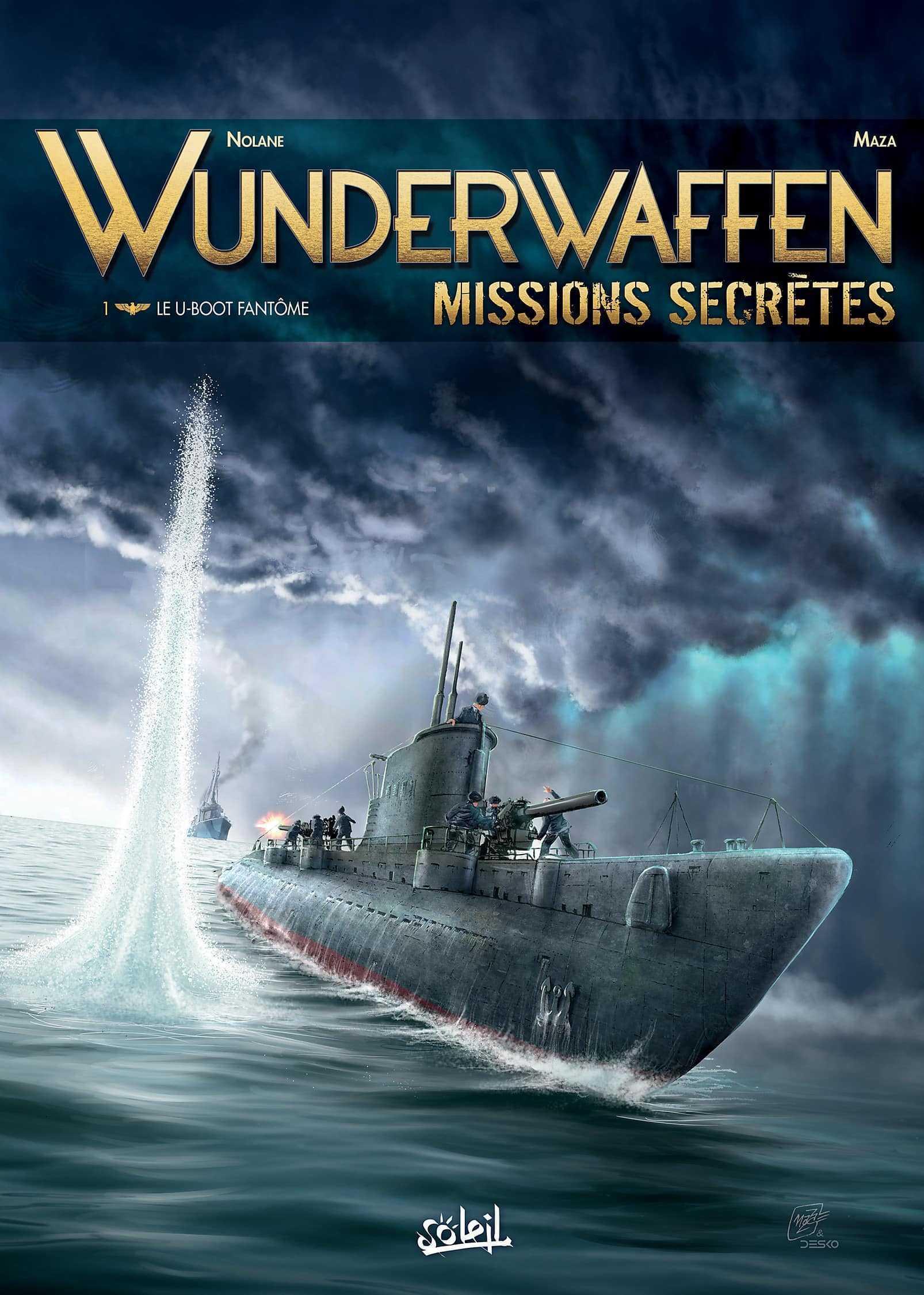 Wunderwaffen missions secrètes, en plongée