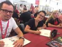 James Christ, Carbone et Justine Cunha