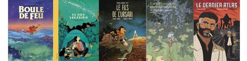Quai des Bulles 2019, les 5 nominés du Prix Ouest-France