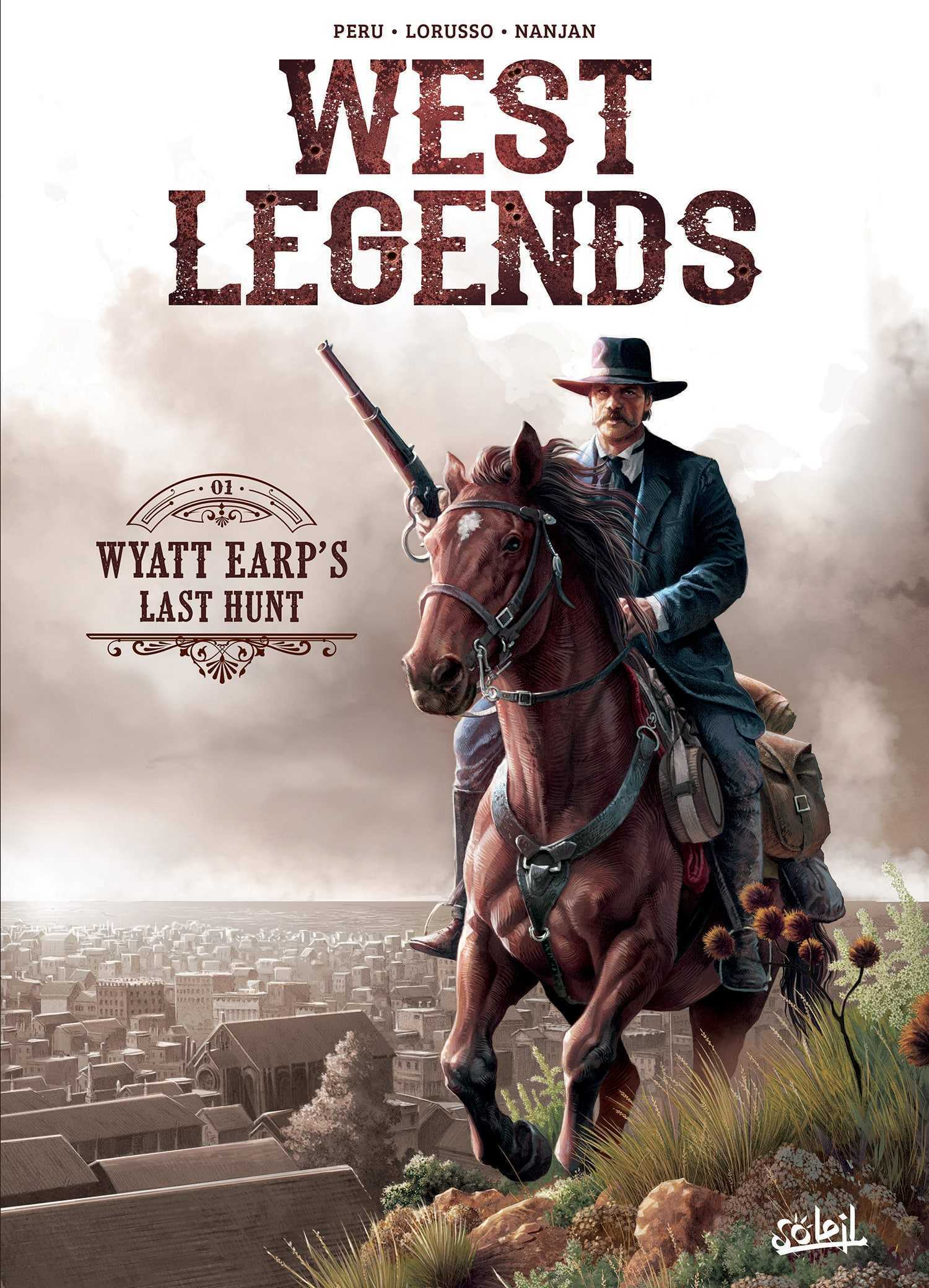 West Legends, Wyatt Earp enquêteur de choc
