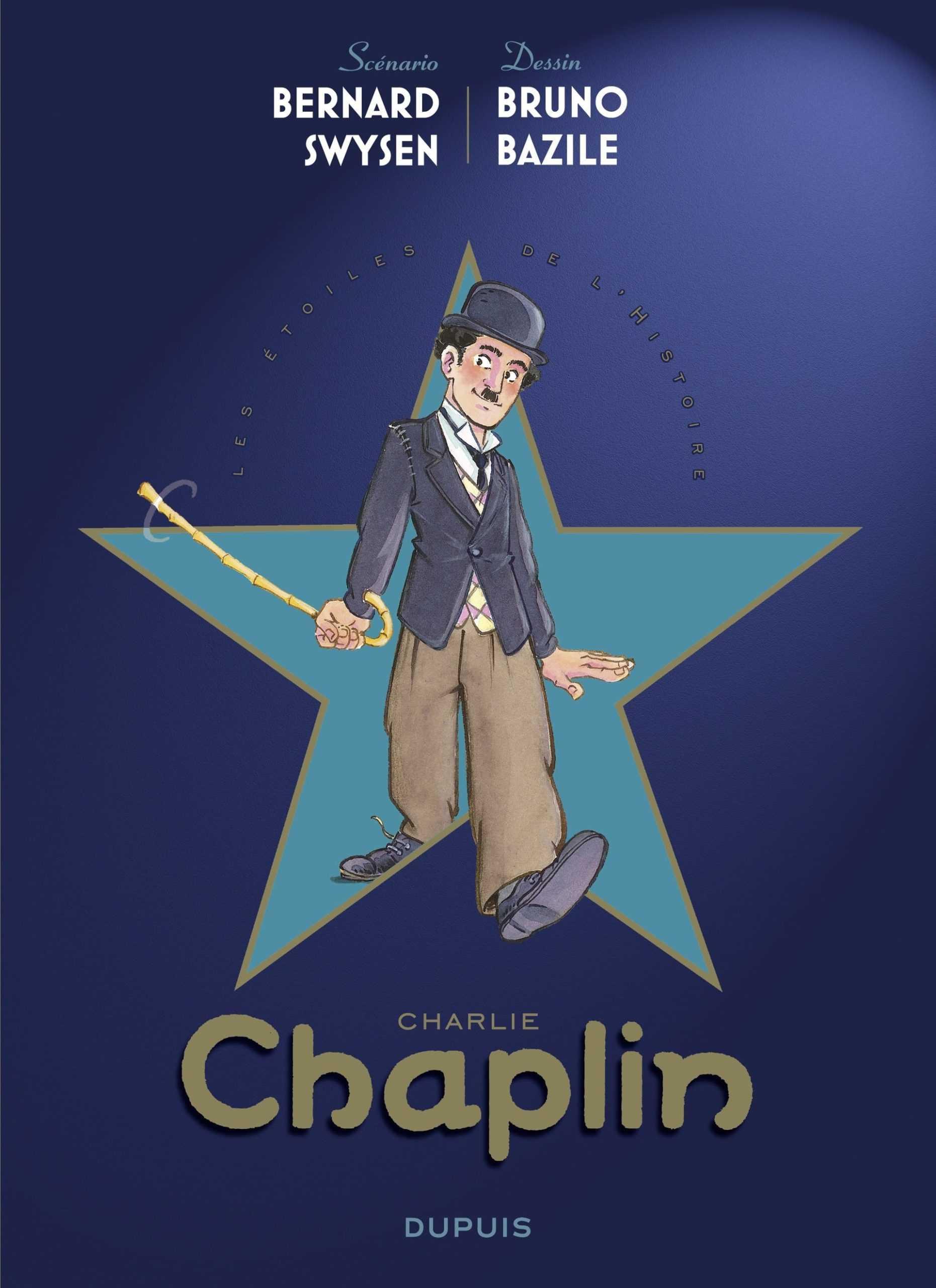 Charlie Chaplin premier nom au générique des Étoiles de l'Histoire