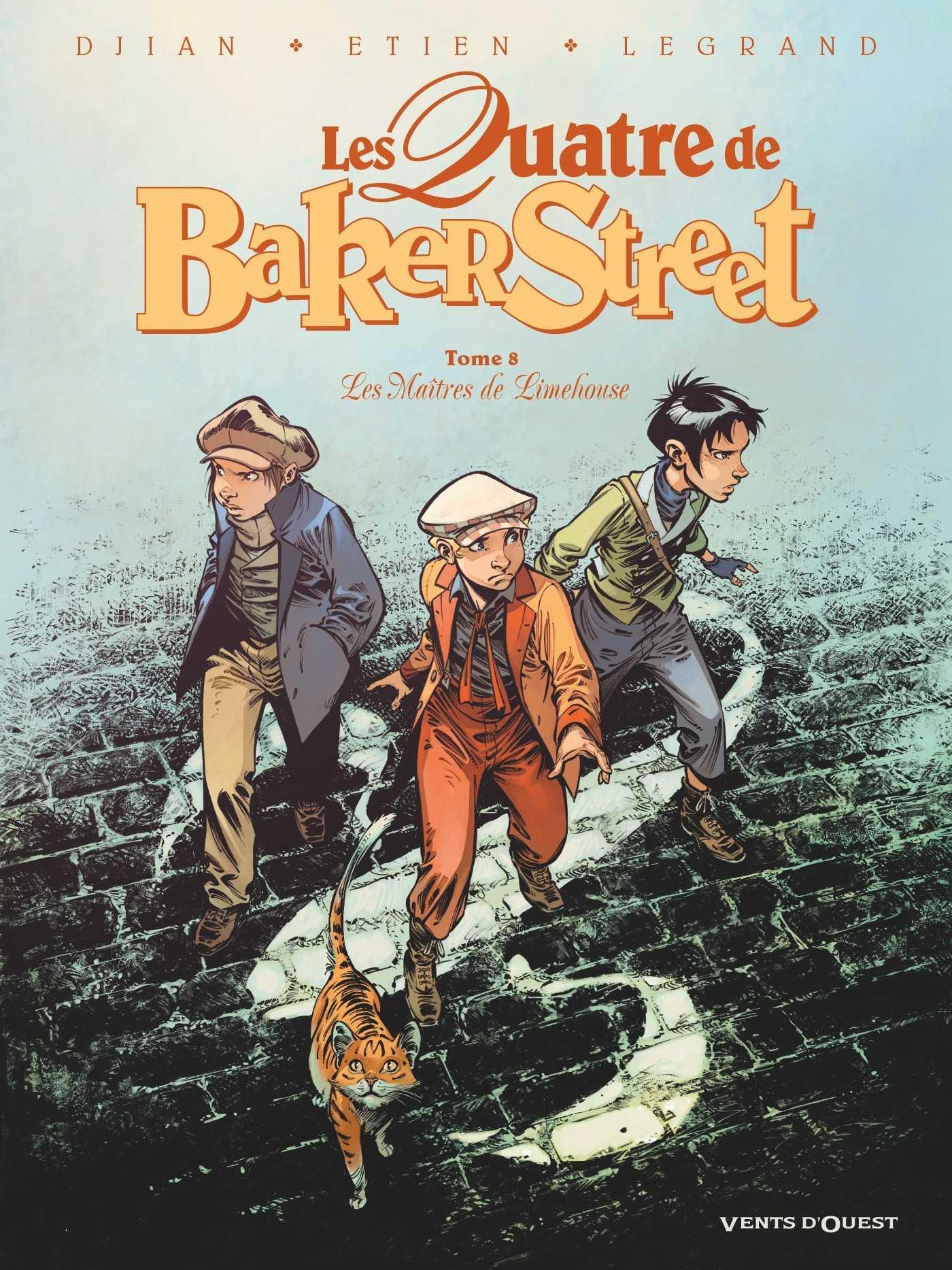 Les Quatre de Baker Street T8, chinoiseries londoniennes