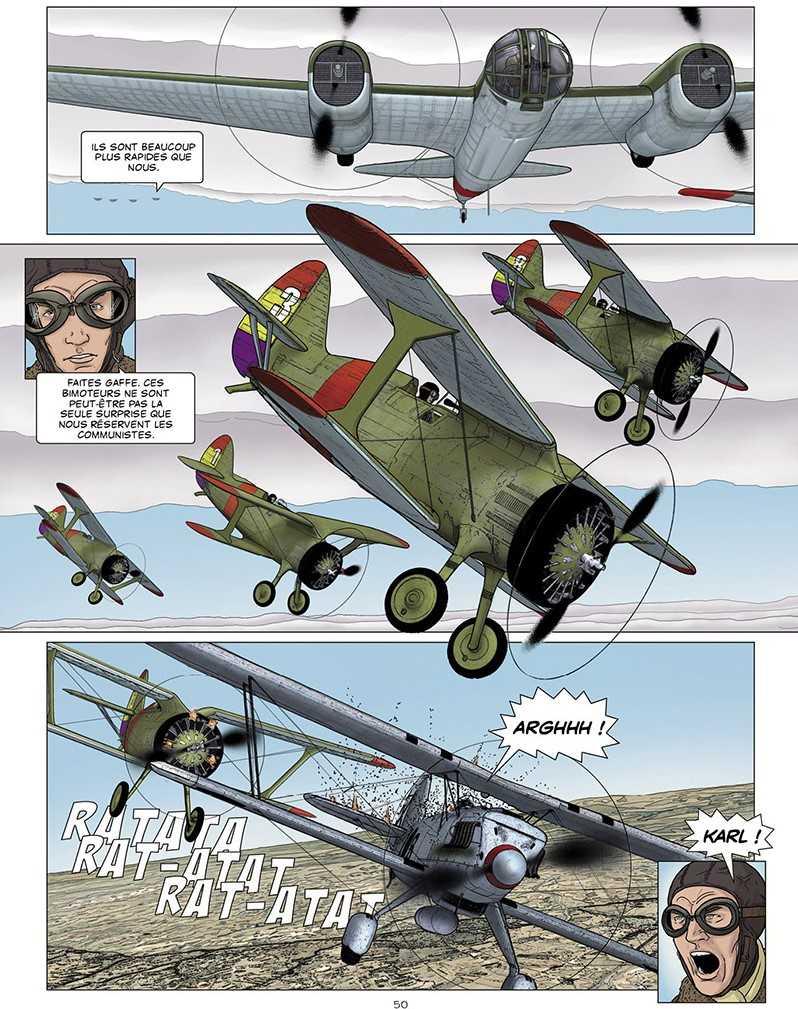1936, Duel sous le ciel d'Espagne