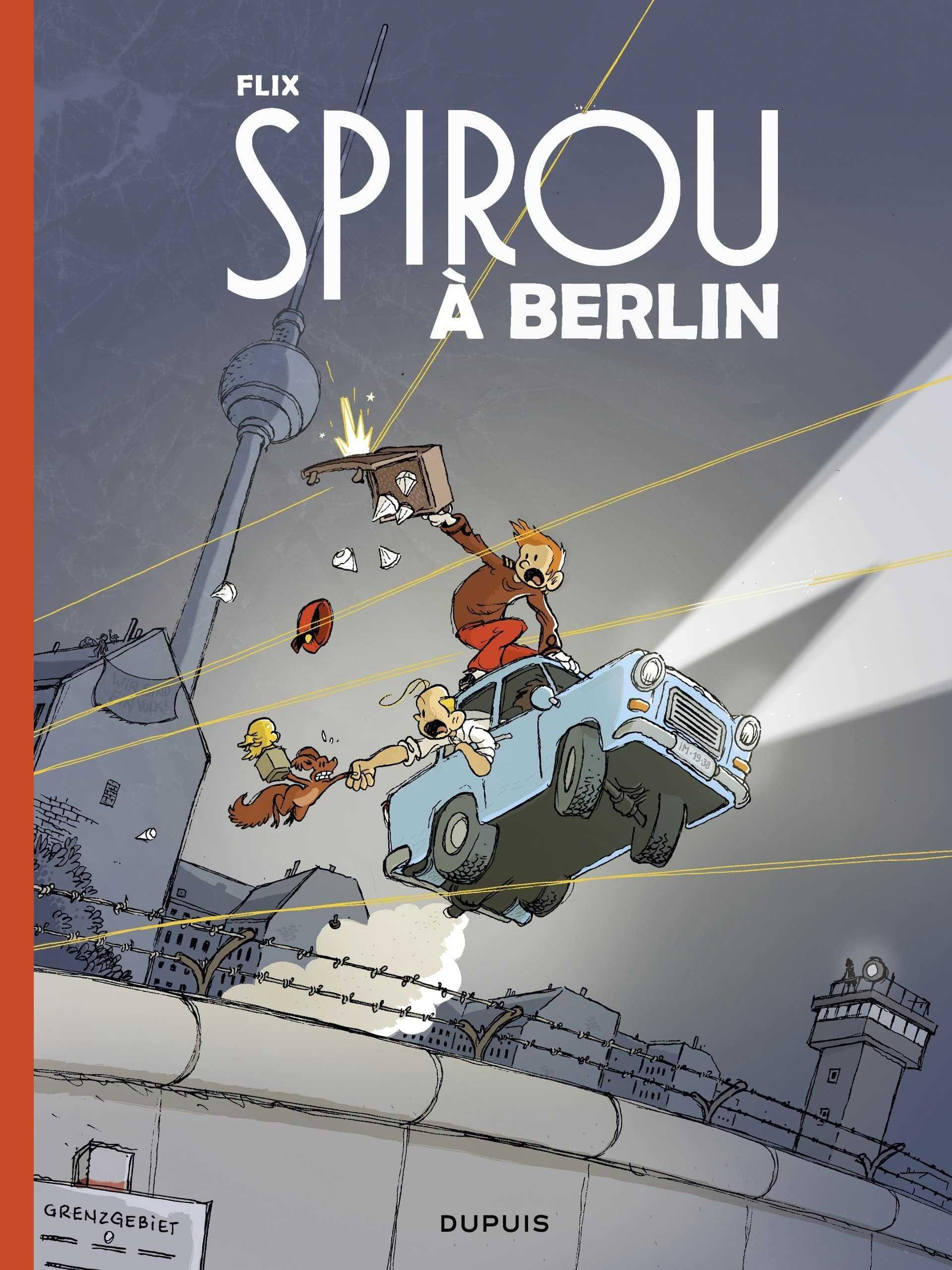 Spirou à Berlin, les diamants ne sont pas éternels