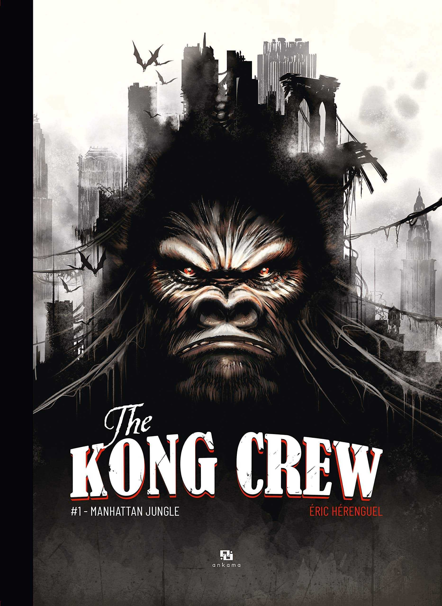 The Kong Crew, New York à l'heure du King