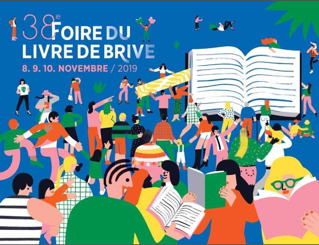 Foire du Livre à Brive, Oubrerie, Gine, Augustin ou Makyo du 8 au 10 novembre 2019
