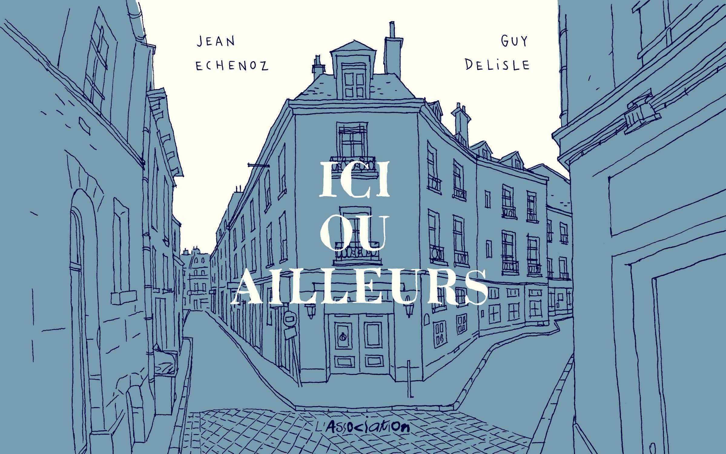 Guy Delisle chez Agnès B le 14 novembre 2019 à Montpellier pour Ici ou ailleurs