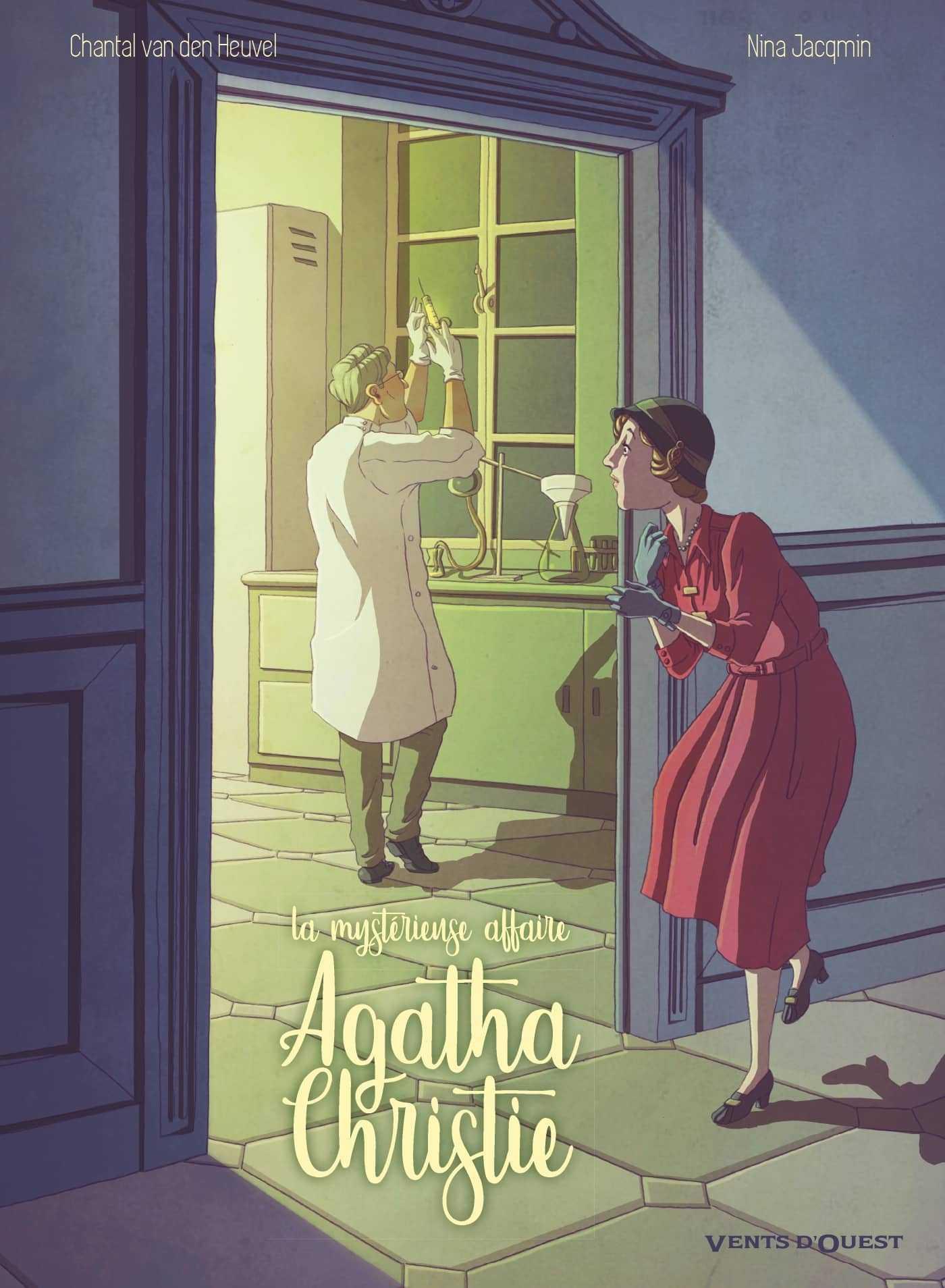 La Mystérieuse affaire Agatha Christie, une fuite désespérée