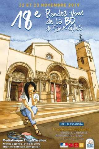 Rendez-vous BD de Saint-Gilles 2019, c'est le vendredi 22 et samedi 23 novembre