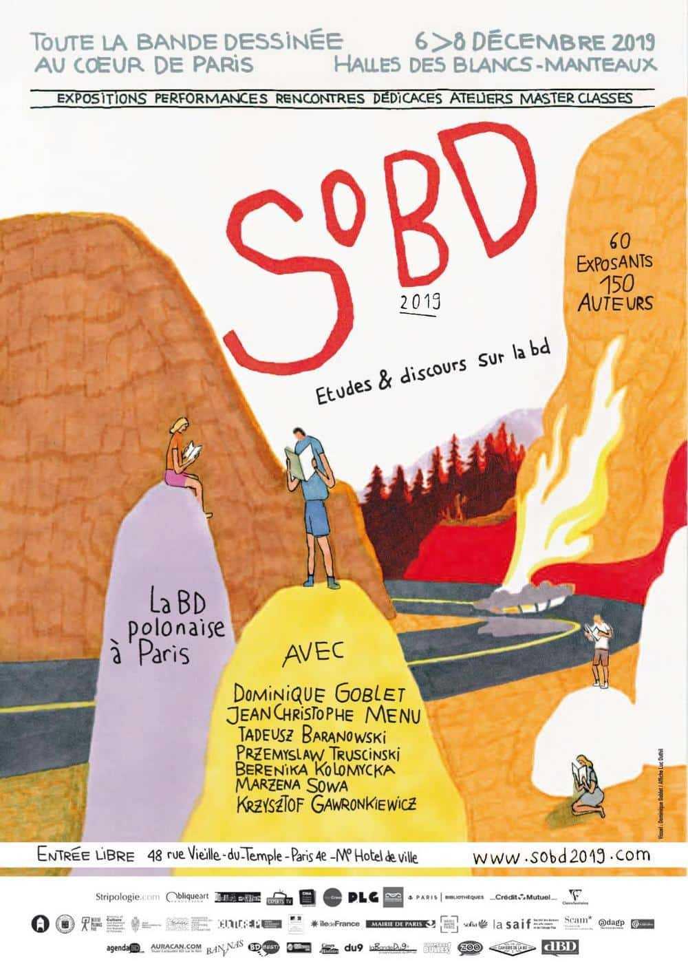 Rémunérer les auteurs en dédicaces, le SoBD se lance dès son édition 2019 du 6 au 8 décembre