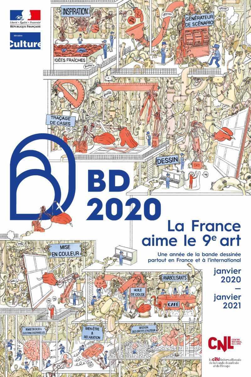 2020 Année de la BD
