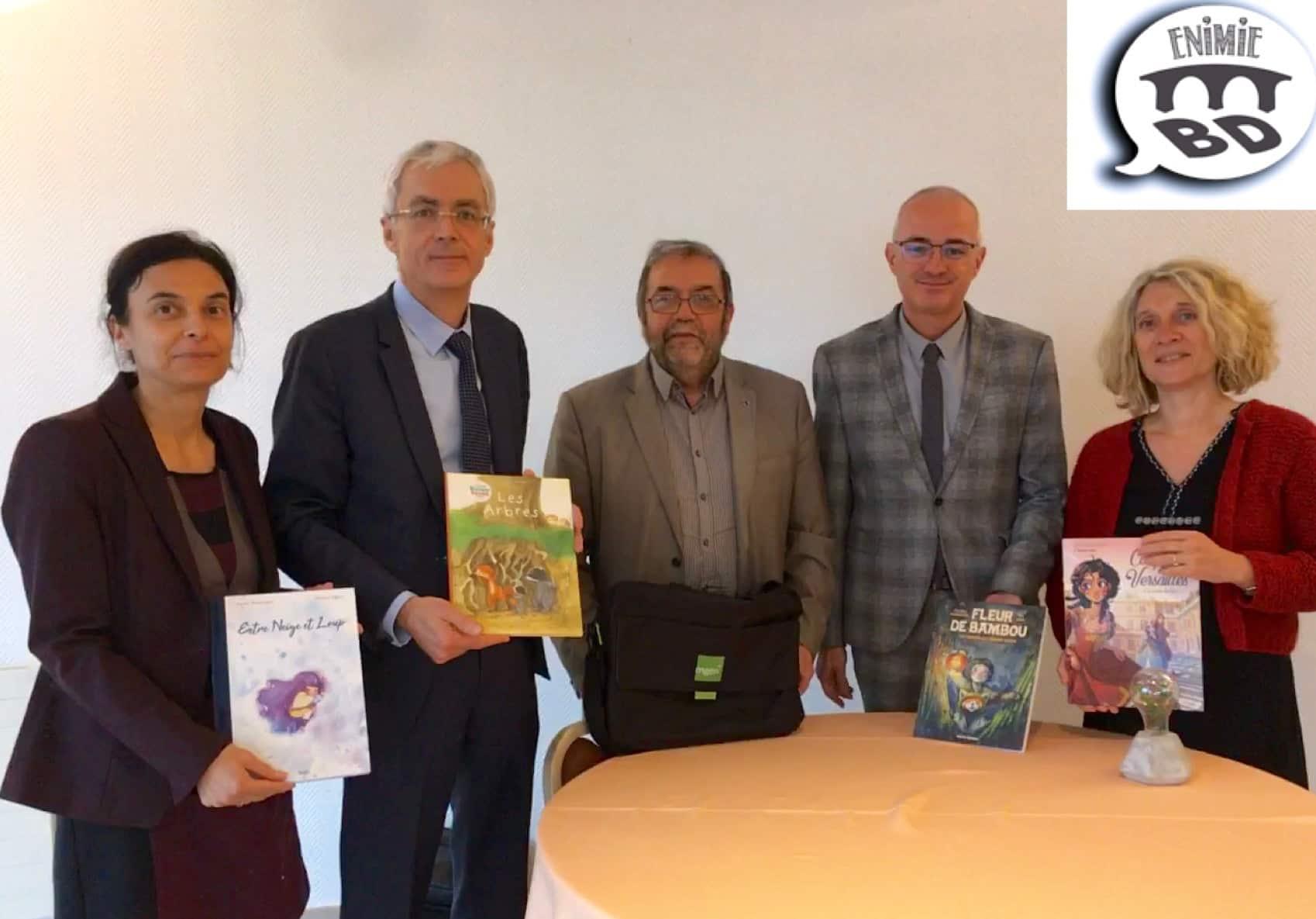 2020 Année nationale de la BD en Lozère aussi avec Enimie BD et son festival