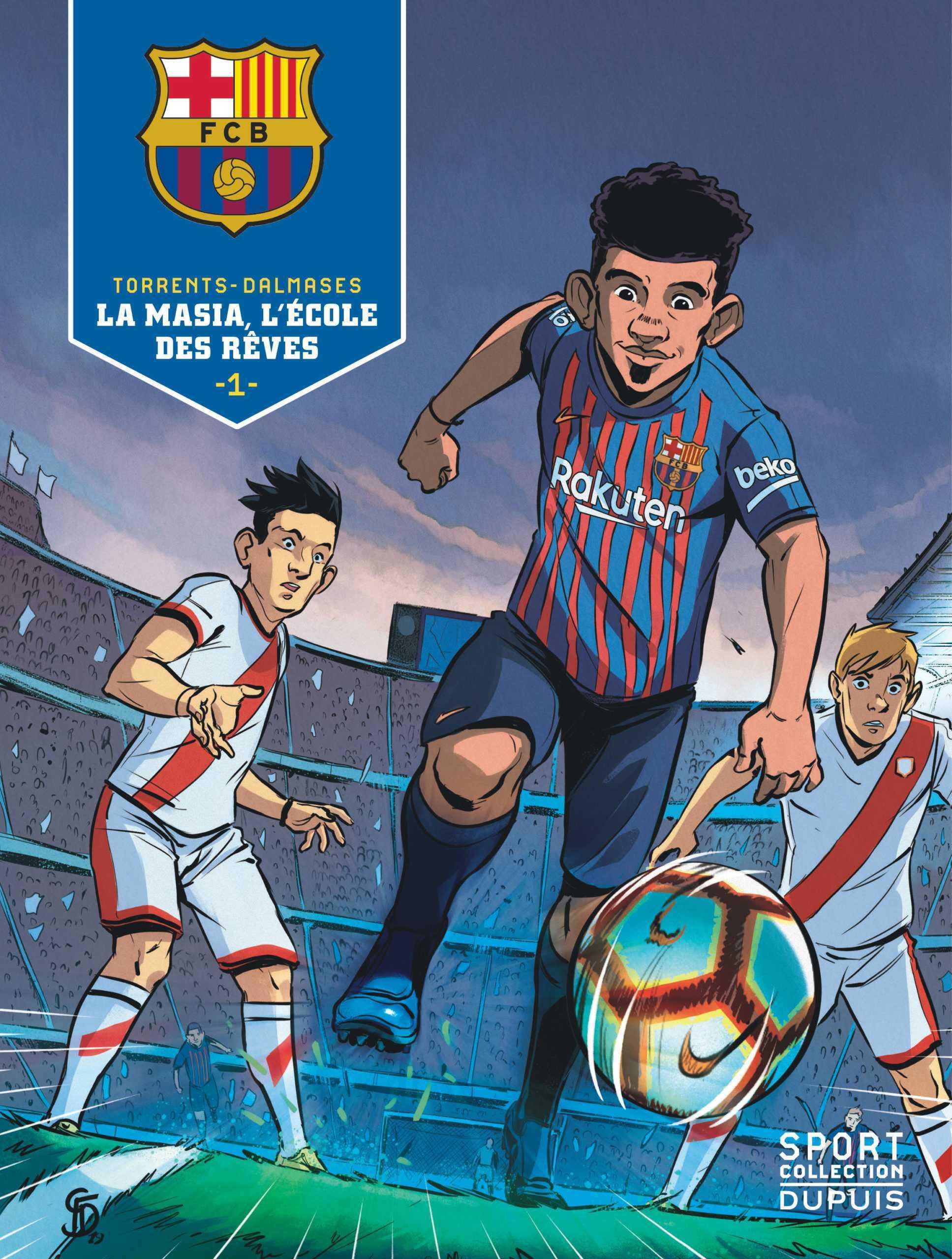 Sport Collection, du foot pour tous les fans chez Dupuis