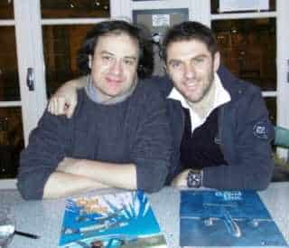 Olivier Dauger et Romain Hugault