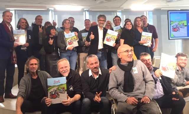 Handi, Cap' ou pas cap', des motards témoignent dans une BD solidaire pleine de vie