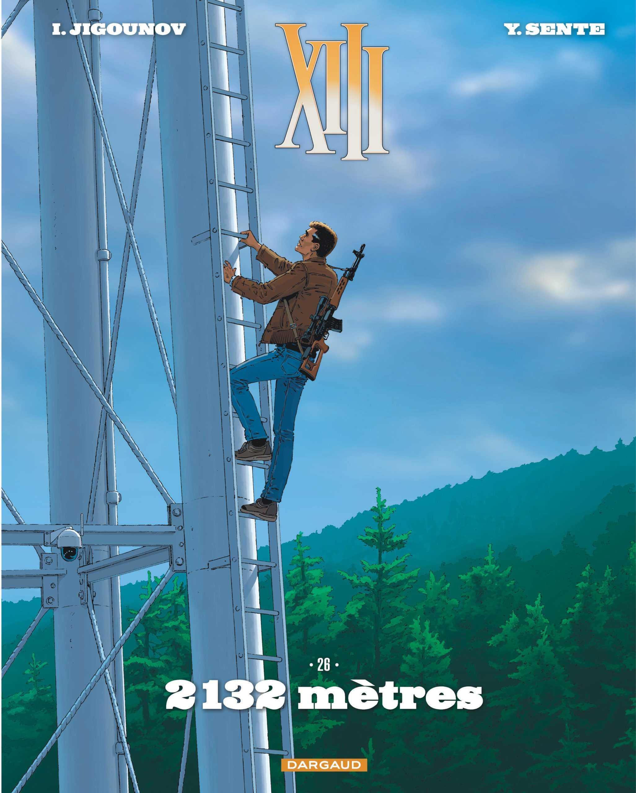 XIII T26, 2132 mètres, un redémarrage très classique