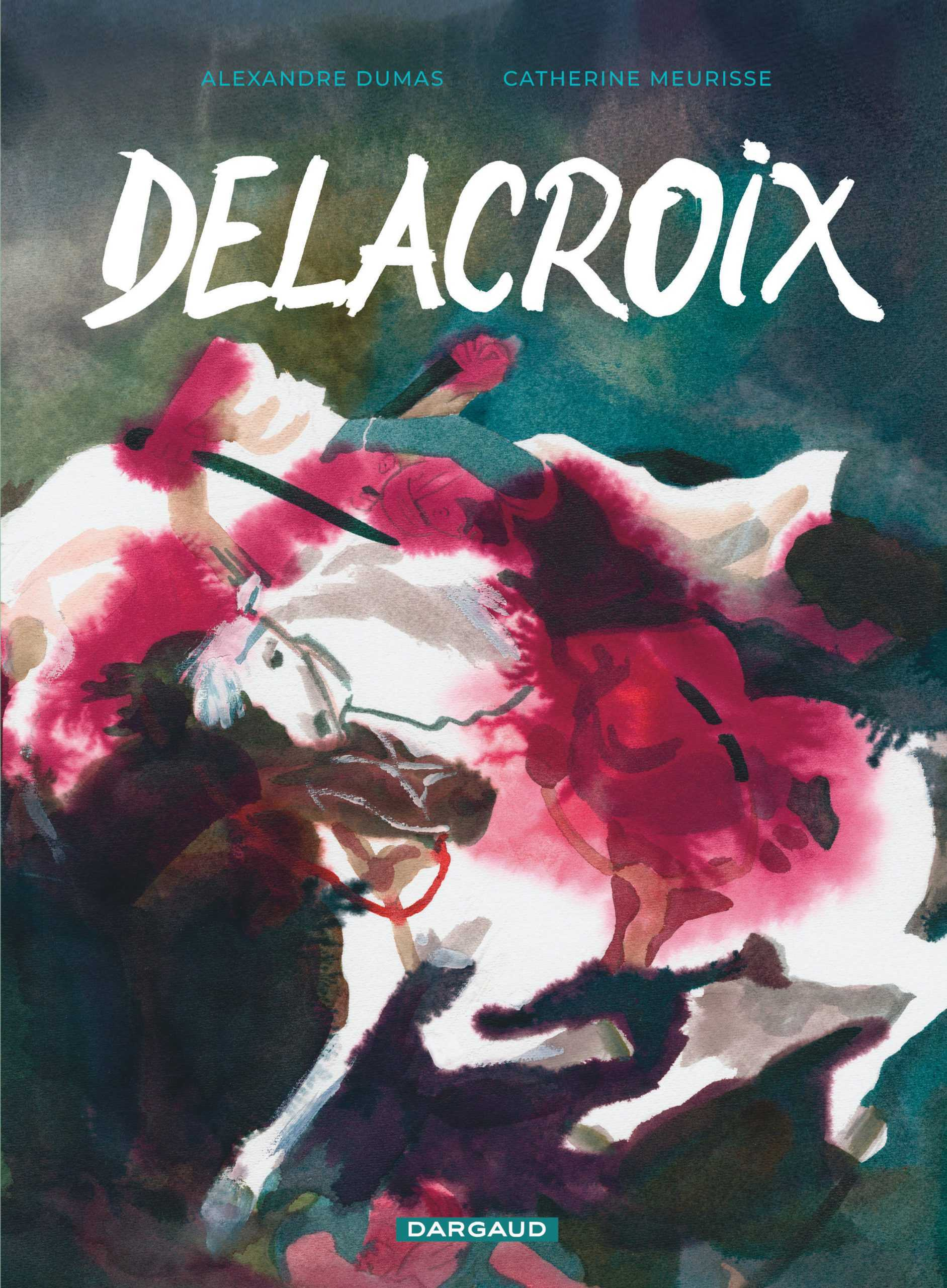 Delacroix, Catherine Meurisse s'expose à Paris et a fait cause commune avec Alexandre Dumas