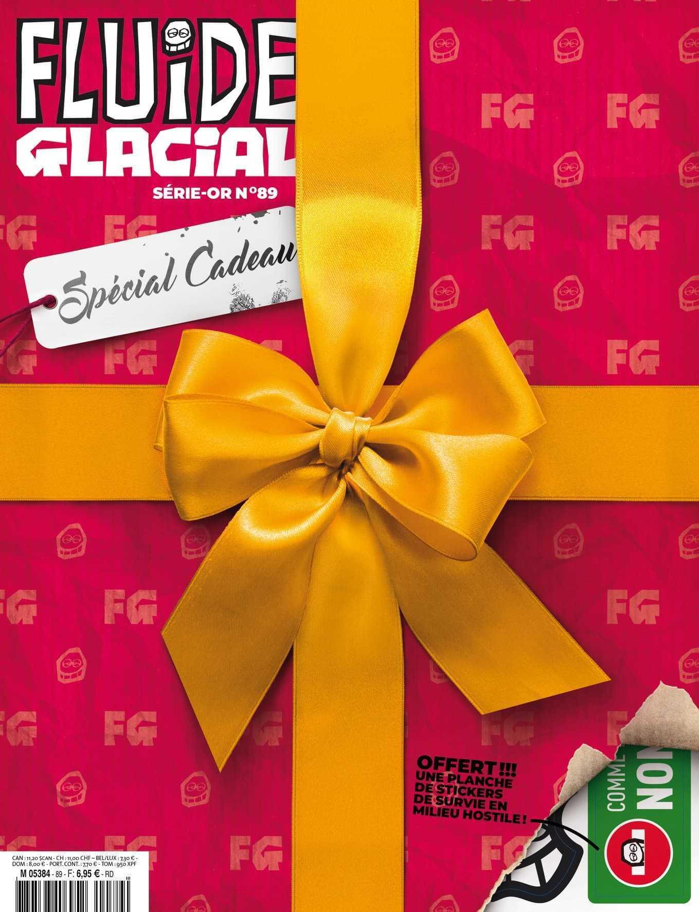Fluide Glacial, un spécial cadeaux de (très) bon goût pour Noël 2019
