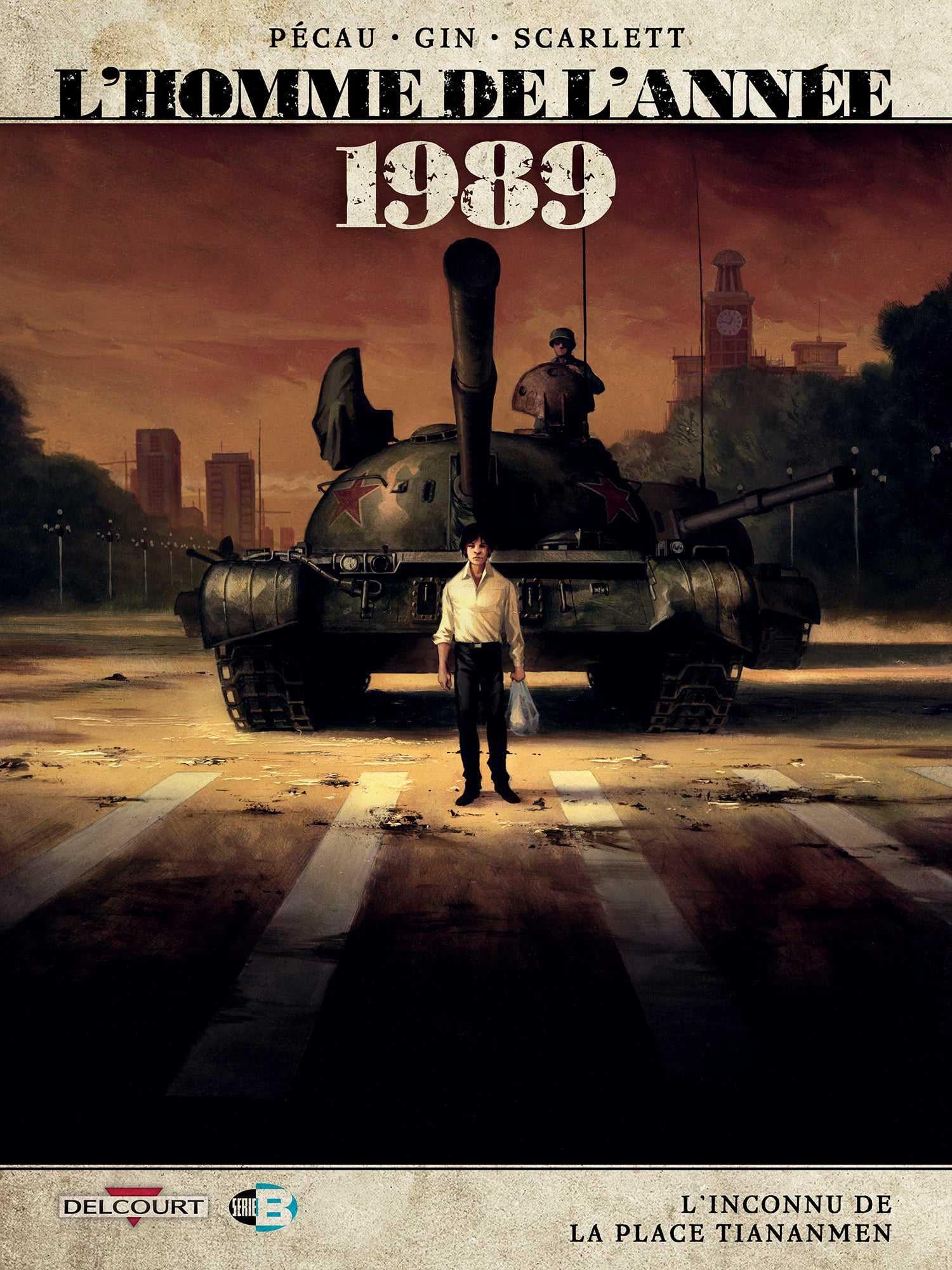 L'Homme de l'année 1989, T16, l'inconnu de Tiananmen