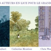 Angoulême 2020, le tiercé des nominés pour le Grand Prix avec Guibert, Meurisse et Ware