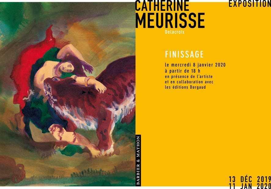 """Un """"finissage"""" sous le signe de Delacroix avec Catherine Meurisse"""